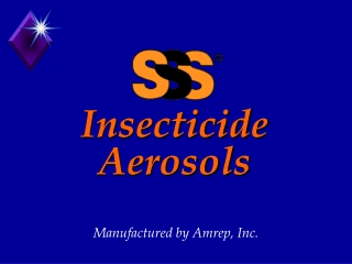 Insecticide Aerosols