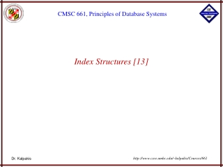 Index Structures [13]