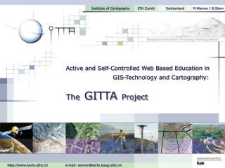GIS-Technology and Cartography: