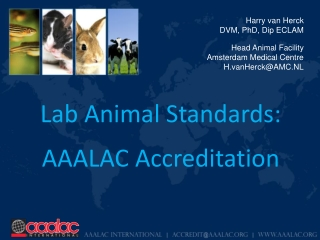 Lab Animal Standards: AAALAC Accreditation