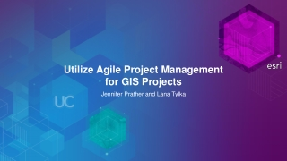 Utilize Agile Project Management  for GIS Projects