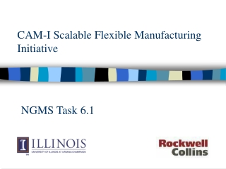 CAM-I Scalable Flexible Manufacturing Initiative