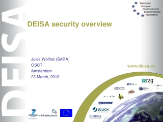 DEISA security overview