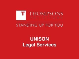 UNISON Legal Services