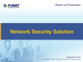 Network Security Solution