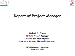 Report of Project Manager