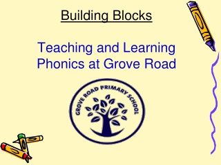 Building Blocks Teaching and Learning Phonics at Grove Road