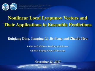 Nonlinear Local Lyapunov Vectors and Their Applications to Ensemble Predictions