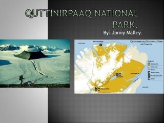 Quttinirpaaq National Park.