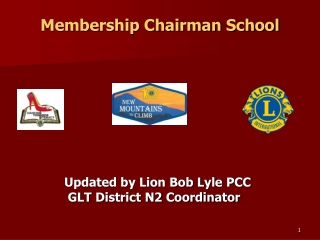 Membership Chairman School