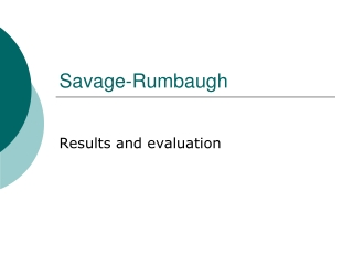Savage-Rumbaugh