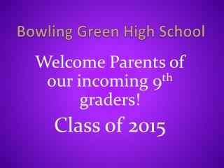 Bowling Green High School