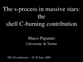 The s-process in massive stars: the  shell C-burning contribution
