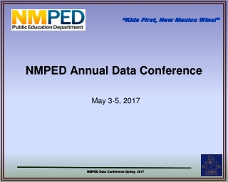 NMPED Annual Data Conference
