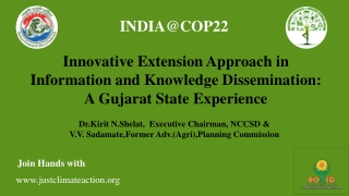 INDIA@COP22