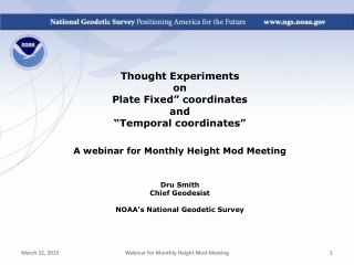 """Thought Experiments  on  Plate Fixed"""" coordinates and """"Temporal coordinates"""""""