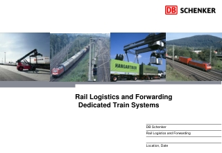 Rail Logistics and Forwarding Dedicated Train Systems