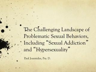 Paul Joannides, Psy. D.