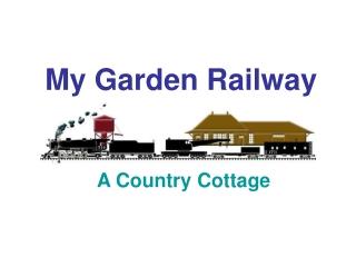 My Garden Railway