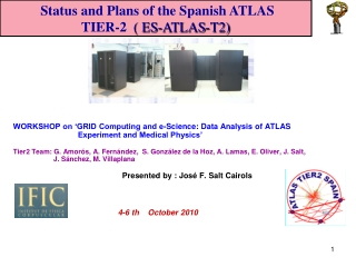 WORKSHOP on 'GRID Computing and e-Science: Data Analysis of ATLAS