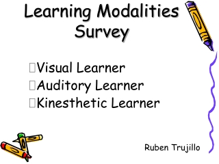Learning Modalities Survey