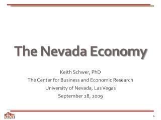 The Nevada Economy