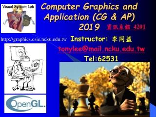 Computer Graphics and Application (CG & AP) 2019
