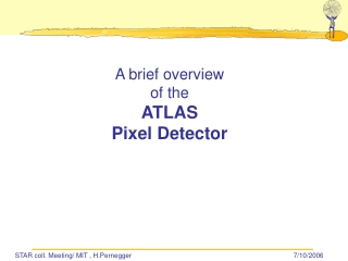 A brief overview of the ATLAS Pixel Detector