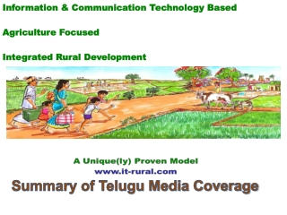 Information & Communication Technology Based Agriculture Focused Integrated Rural Development