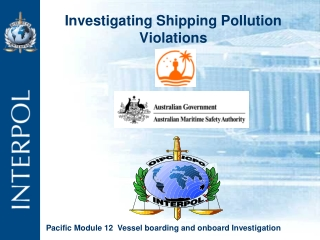Investigating Shipping Pollution Violations