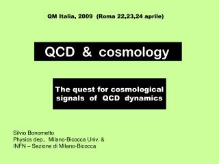 QM Italia, 2009  (Roma 22,23,24 aprile)