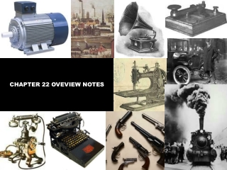 CHAPTER 22 OVEVIEW NOTES