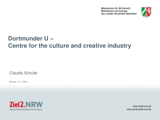 Dortmunder U –  Centre for the culture and creative industry