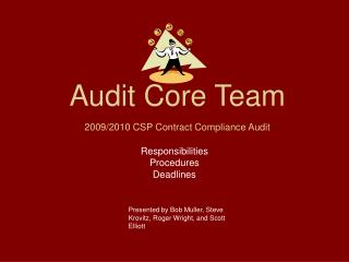 Audit Core Team