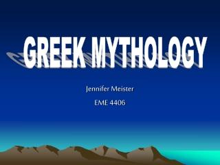 Jennifer Meister EME 4406