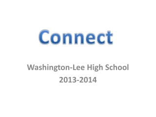 Washington-Lee High School 2013-2014