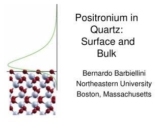 Positronium  in Quartz:  Surface and Bulk