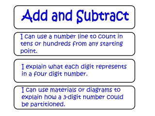 Add and Subtract