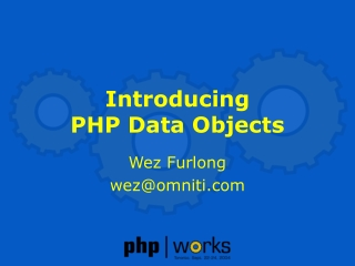 Introducing PHP Data Objects