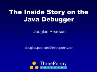 The Inside Story on the Java Debugger