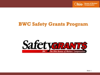BWC Safety Grants Program