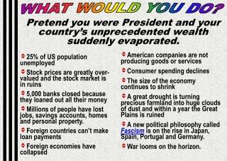 25% of US population unemployed