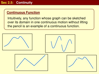 Sec 2.5: Continuity