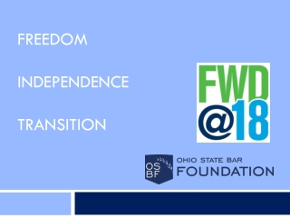 Freedom Independence Transition