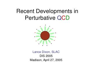 Recent Developments in Perturbative  Q C D