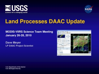 Land Processes DAAC Update
