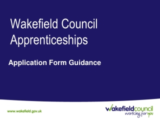 Wakefield Council Apprenticeships