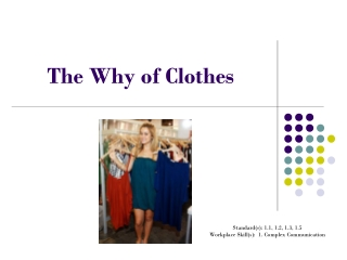 The Why of Clothes