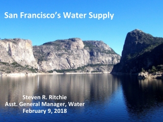 San Francisco's Water Supply