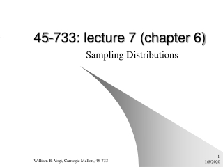 45-733: lecture 7 (chapter 6)